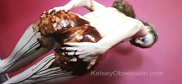Farting - Wet & Messy With Chocolate Sauce