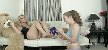 Foot Domination - Stepsister Licking Whitney Morgan