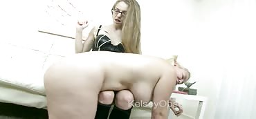 Spanking and Punishing Slutty Alice Frost