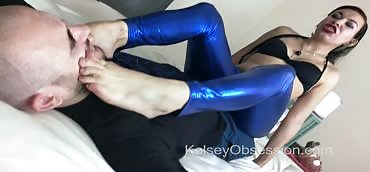 Farting - Risika's Fart Domination in Shiny Pants - Full Length Scene