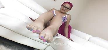 POV Foot Worship With Little Mina