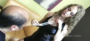 Cuckolding - Cum Eating Instruction Feeding Husband Black Sperm