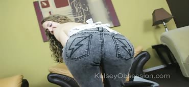 Farting - POV Face Sitting in Jeans